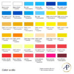 Tavolozza – colori a olio